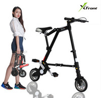 New A Bike Unisex 8 Inch Wheel Mini Ultra Light Folding Bike Subway Transit Vehicles Road