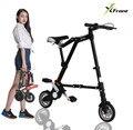 Nuevo a-bici unisex 8 pulgadas rueda de mini ultra-ligero plegable bicicleta de los vehículos de transporte de metro camino de la bicicleta deportes al aire libre bicicleta