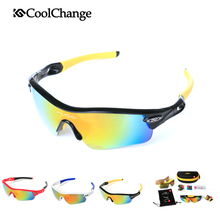 CoolChange Outdoor Sports Polarized Cycling Glasses MTB Professional Bike Sunglasses Men Bicycle Eyewear