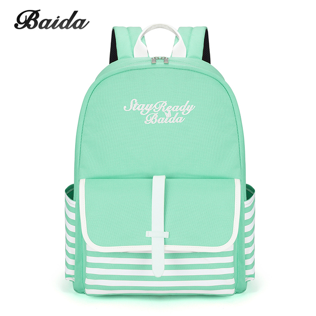 Fashion School Backpacks for Teenage Girls Canvas Women Laptop Back Pack Female Cute Japan and Korean Style Backpack Travel Bags 2