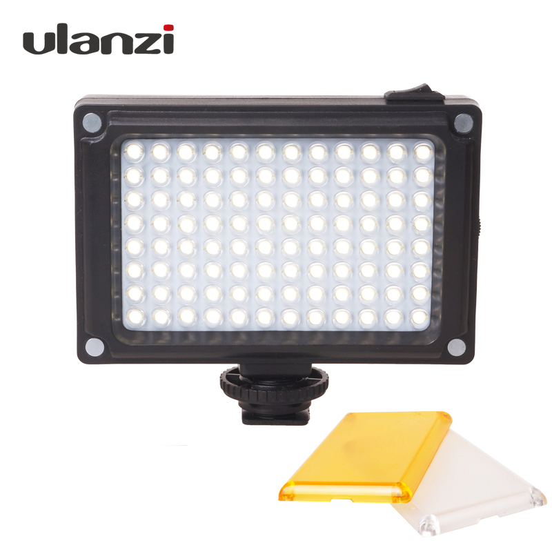 Ulanzi 96 Camera LED Video Light Photo Studio Licht op Camera met Hot shoe voor Canon Nikon Sony DV SLR zhiyun Glad Q Gimbal