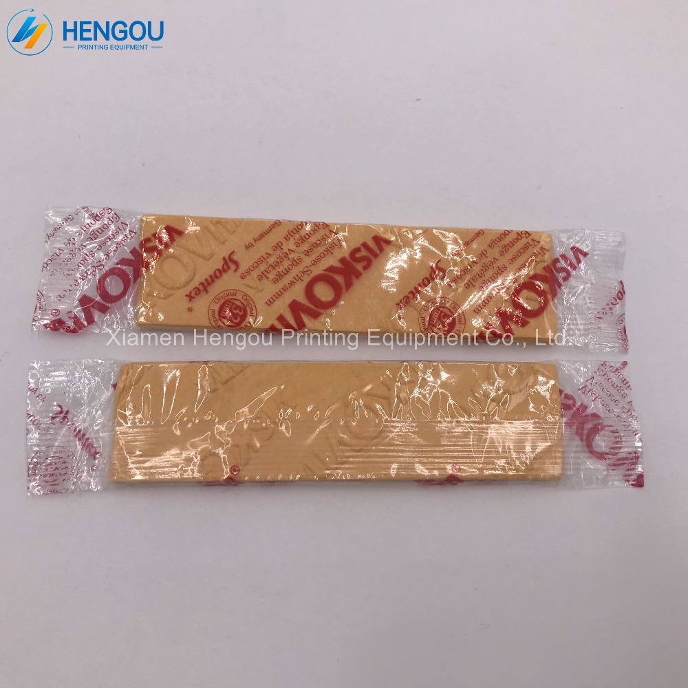 50 pieces Imported Quality Made in Germany Compressed sponge for Hengoucn Roland