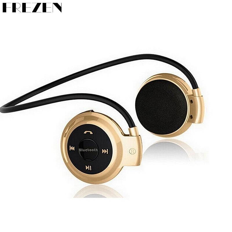 Bluetooth Wireless Headphones Mini 503 Sport Headsets Music Stereo Earphones+Micro SD Card Slot+FM Radio With Mic Mini503