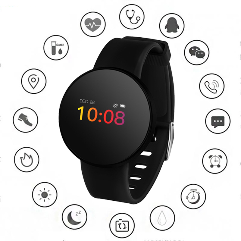 Smart Watch Women Waterproof Sport Fitness Heart Rate Monitor Blood Pressure Tracker Smartwatch Wearable Devices For IOS Android