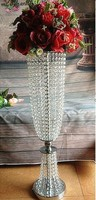 long crystal wedding road lead wedding table centerpiece flower vase event party decoration flower holder display stand