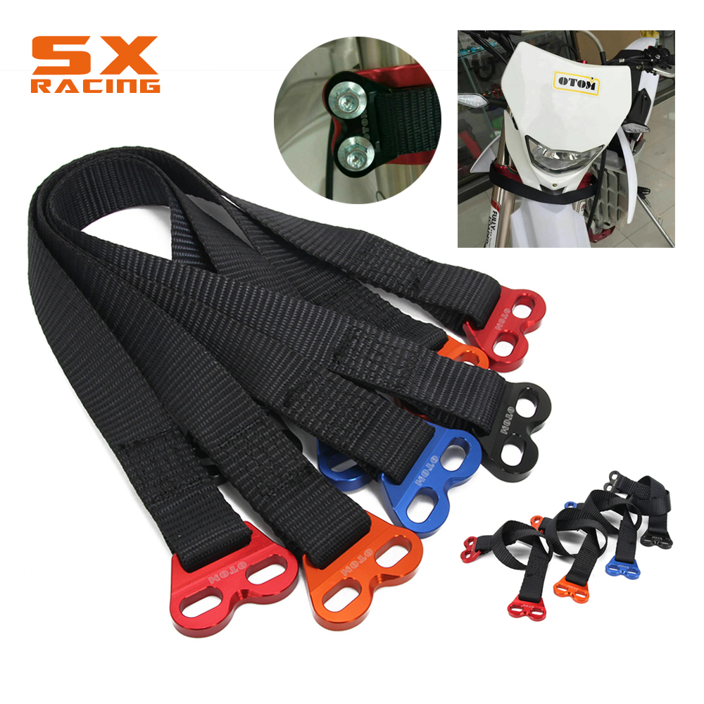 Off-road Motorcycle Fork Rescue Strap Pull Sling Belt For KTM EXC SXF SX Enduro Dirt Bike ...