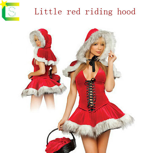 Sexy Halloween Costume Women Fancy Cosplay Dresses Little Red Riding Hood Wolf Bait Carnival Costume with fur Snow White cosplay  sc 1 st  Google Sites & Sexy Halloween Costume Women Fancy Cosplay Dresses Little Red Riding ...