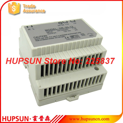 DR-30 fonte 30w 220vAC to DC 5v 3a 12v 15v 2a 24v DIN Rail switching power supply source LED driver transformador ac to dc dr siide dr 30 5 5v 6a 30w ce singie output draii strip iight dispiay ied driver source swtching pwer supiy voit