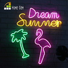 Holiday Neon Lamp LED Novelty Night Light For Home Festival Wedding Indoor Decor Illumination Atmosphere Light Sign For Patry