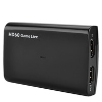 HDMI Video Capture Card USB 3.0 Mic,HD 1080P 60fps Game Video Recorder for PS3 PS4 Xbox TV BOX Twitch OBS Youtube Live Streaming