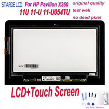 STARDE LCD For HP Pavilion X360 11U 11-U 11-U054TU LCD Display Touch Screen Digitizer Assembly with Black Flex Cable+Free Tools все цены