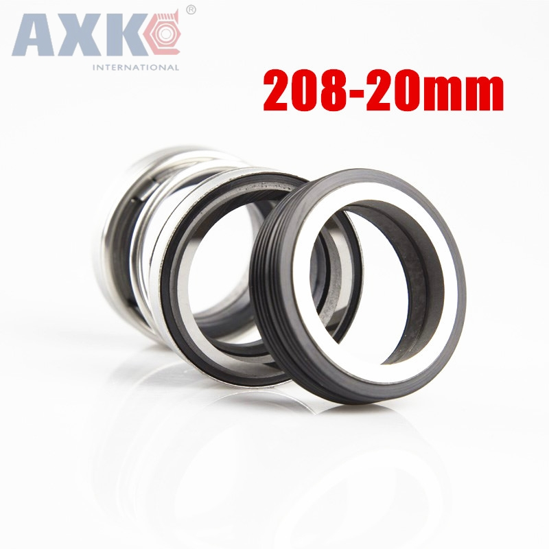 AXK 208-20 20MM Inner Diameter Mechanical shaft seal Three Coil Spring For Water Pumps new leadshine close loop system integrated motot iss57 20 a nema 23 motor with1000 encoder