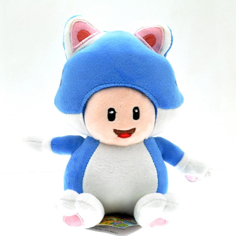Mushroom Plush Cat Toy