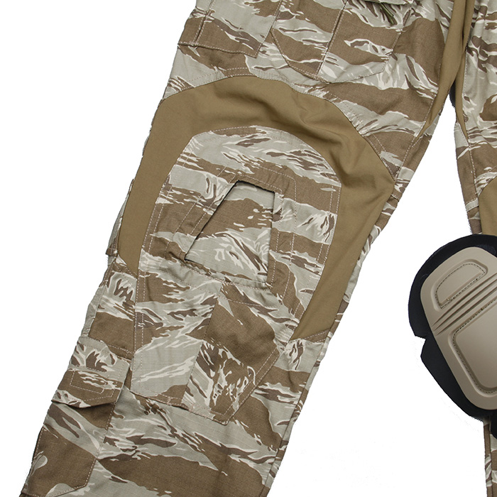 2019 nouveau pantalon tactique SST G3 avec genouillères désert tigre Camouflage pantalon de patrouille tactique - 6