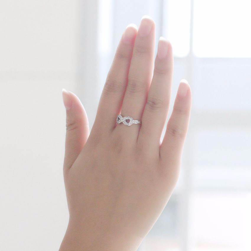 Luxury Infinity Ring For Women