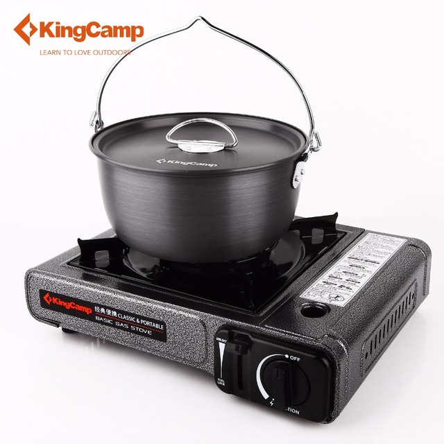 Latest KingCamp Portable Outdoor Gas Stove Camping Hiking Picnic Gas Stoves for Trekking Camping Equipment Modern - Awesome outdoor stove Beautiful