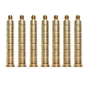 Image 4 - 24Pcs 100Gr Copper Arrow Weights Insert Screw Points For ID 6.2mm Shafts Carbon Fiberglass Arrows Hunting Archery Accessories