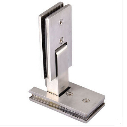 shower hinge 180 degree hinge rectangular stainless steel bathroom shower hinge clip sided glass black titanium 180 degree hinge open 304 stainless steel glass shower door hinges for home bathroom furniture hardware hm156