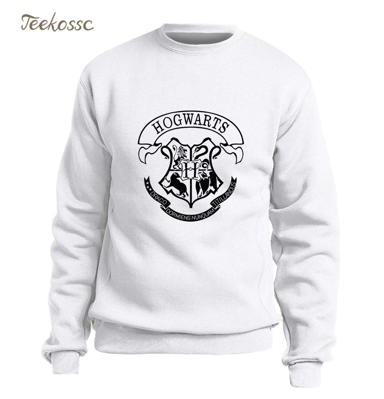 4c71453832c6 Hogwarts Sweatshirt Men Magic Hoodie Graphics Design Crewneck Sweatshirts  2018 Winter Autumn Fleece Warm Slim Fit Brand Clothing-in Hoodies    Sweatshirts ...