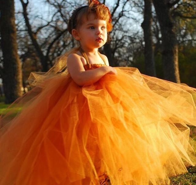 Ziemlich orange baby mädchen taufkleid mädchen hochzeit kleid ...