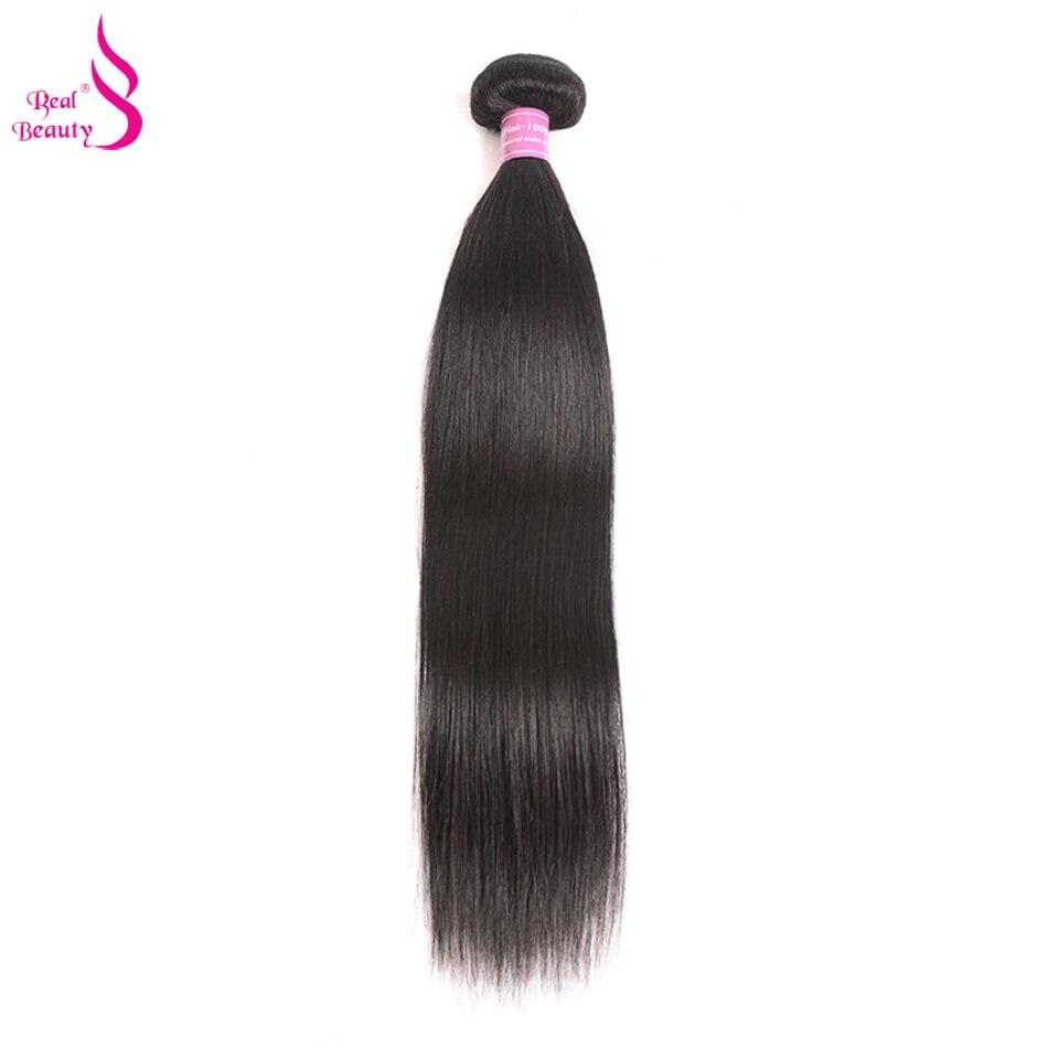 """Brasilianische Gerade Haar 1/3/4 Stück Remy Menschliches Haar Bundles Echt Schönheit Haar Weben 10 """"- 26 """"kann Gefärbt Werden"""