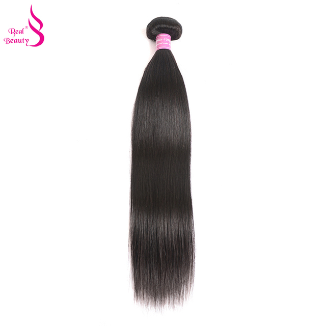 "Brazilian Straight Hair 1/3/4 Piece Remy Human Hair Bundles Real Beauty Hair Weave 10""-26""Can Be Dyed"