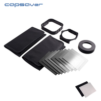 capsaver Camera Lens Filter Neutral Density Filter ND2 ND4 ND8 ND16 GND Graduated Color Cokin Filter Holder Adapter Ring 52mm