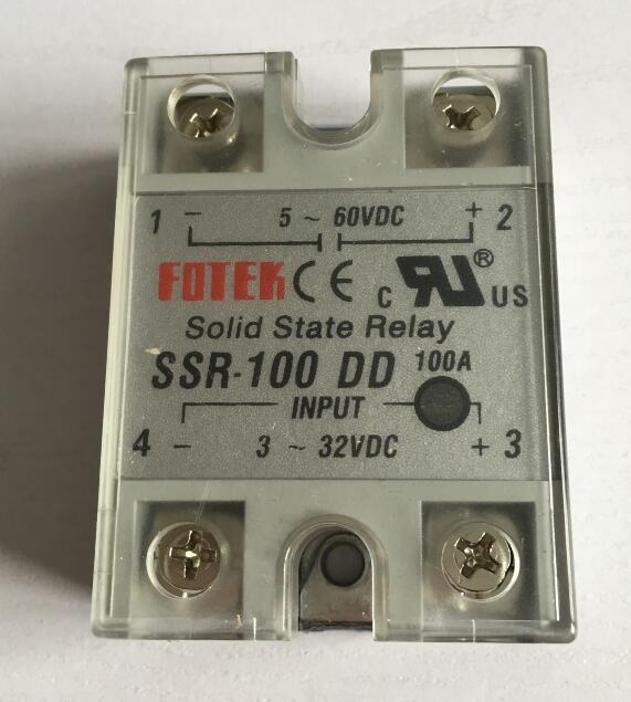 Подробнее о 5-60VDC to 3-32VDC 100A SSR-100DD Solid State Relay Module with Plastic Cover 5 60vdc to 3 32vdc 60a ssr 60dd solid state relay module with plastic cover