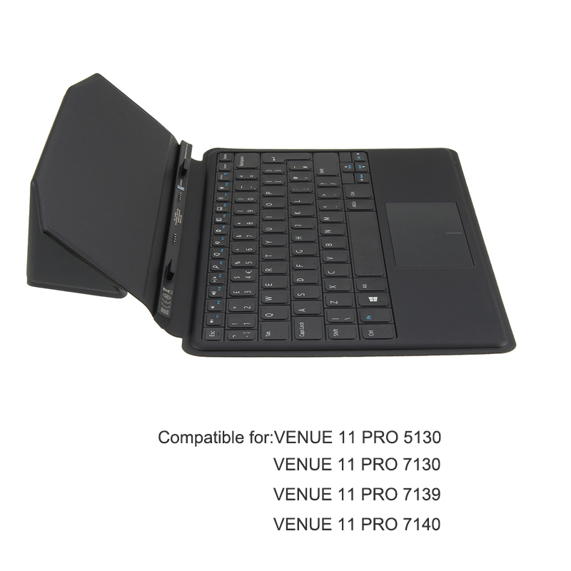цена на Mobile Tablet Keyboard Case Stand Slim Docking Keyboard Cover For Dell Venue 11 Pro 5130 7130 7139 7140