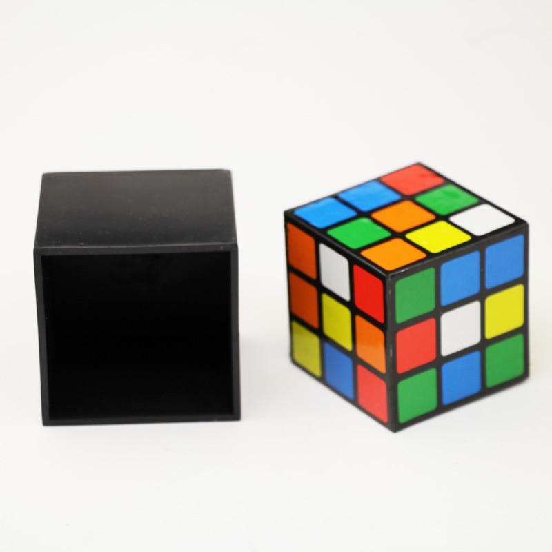 Free ship Triple Cube Diko Cube Irelia magic set magic tricks illusion 1set/lot mentalismo magician prop juegos de magia toy party magic tricks prop and training set money press