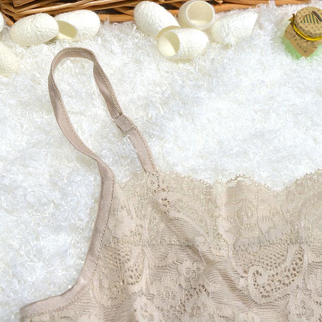 Pure Silk  Female Silk Knit Silk  Suspenders Small Sling Multicolor Primer