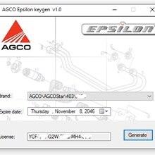 AGCO Epsilon генератор автомобильных ключей безопасности