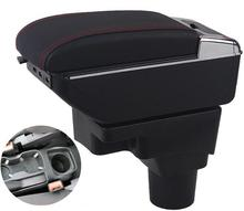 цена на for Chevrolet Aveo armrest box central Store content Storage box cup holder car-styling accessories  2011