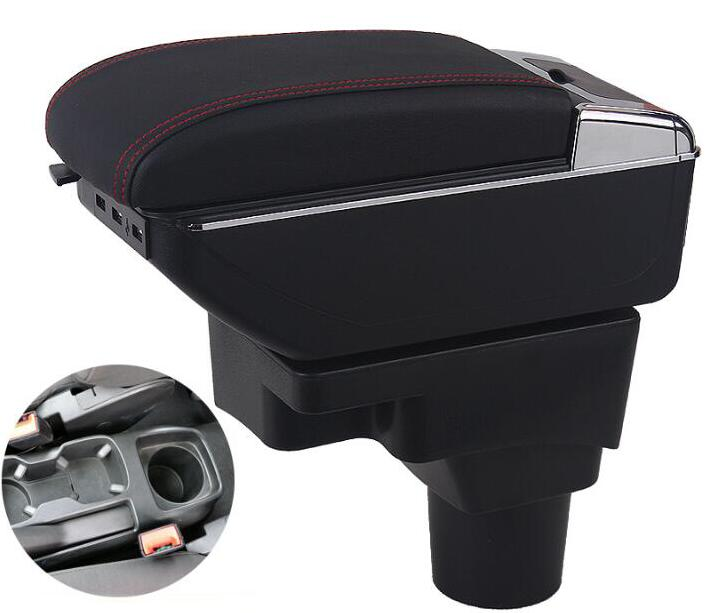 for Chevrolet Aveo armrest box central Store content Storage box cup holder car-styling accessories 2011