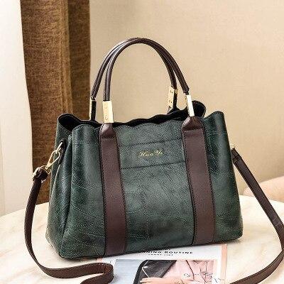 A Stile Una Il Caldo Tracolla Nero Indossato La grey Borsa colore Moda Nuova Di borgogna verde Scuro Giallo Sacchetto Femminile tnwSvq