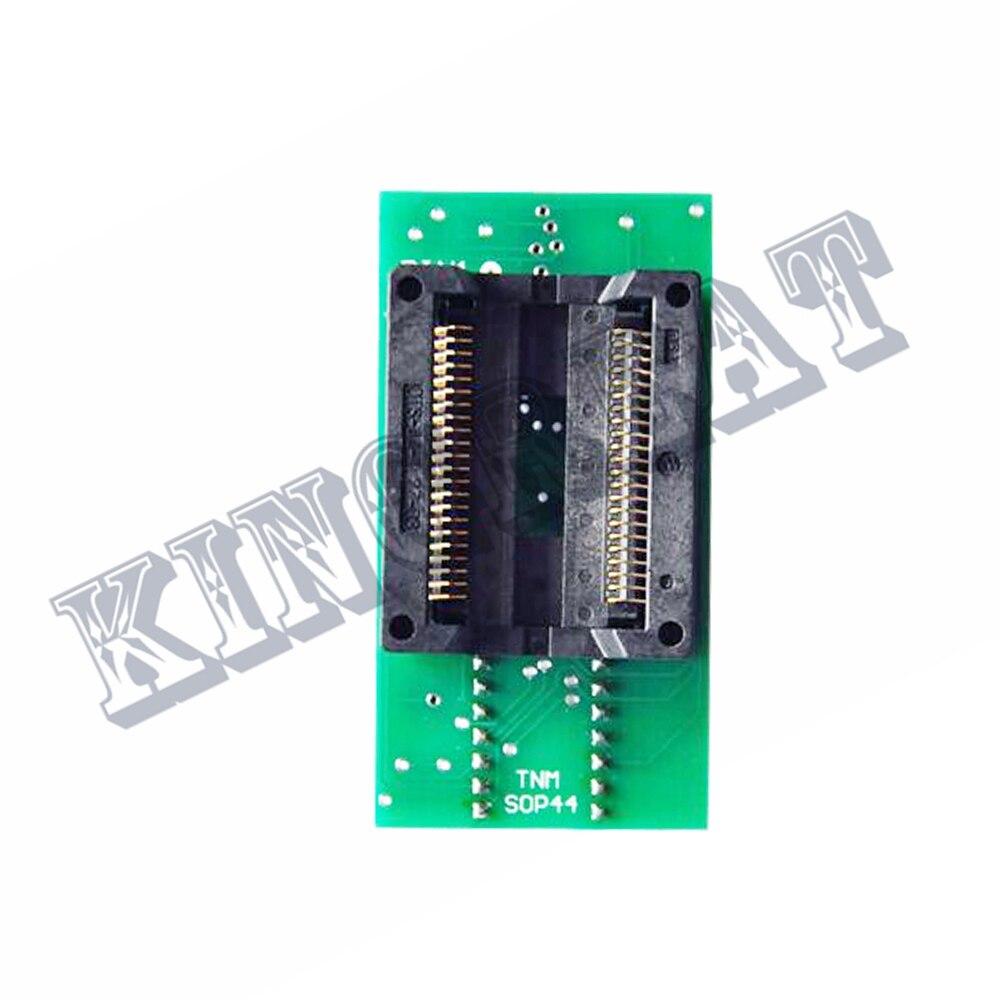 Adaptateur de programmeur TNM SOP44 à DIP40/convertisseur/prise IC pour programmeur flash TNM5000 et TNM2000 nand