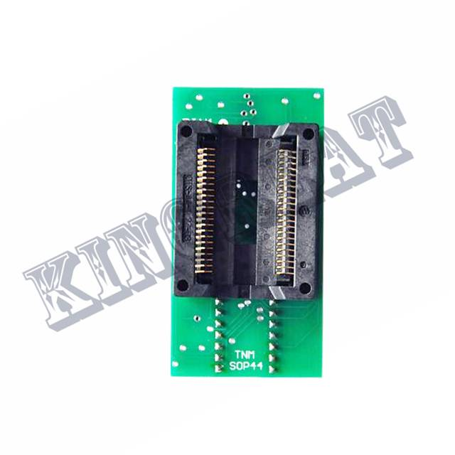 US $58 74 11% OFF|TNM SOP44 to DIP40 programmer adapter/converter/IC socket  for TNM5000 and TNM2000 nand flash Programmer-in Integrated Circuits from
