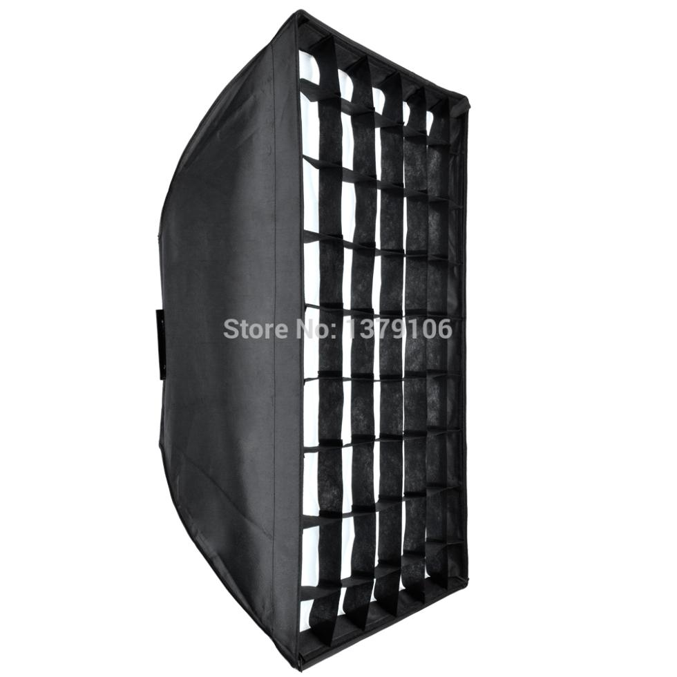 Godox 24x35 60x90cm Honeycomb Grid Softbox soft box with Bowens Mount for Studio Strobe Flash Light Photography Lighting цена 2016