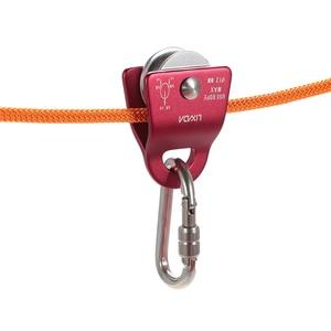 Image 3 - Lixada Micro poulie Mobile Max, roulement 20kN, corde de 1/2 pouces pour le gréement darbustes, accessoire descalade, sculpture darbres