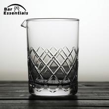 650 мл стаканчики для смешивания, стеклянные инструменты, Коктейльные стаканы, стеклянные стаканы для смешивания напитков, профессиональные стаканы для коктейля, виски