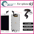 A+++ Quality 1PCS/LOT Test One By One For iPhone 6s LCD Display ScreenFull set Assembly White and black