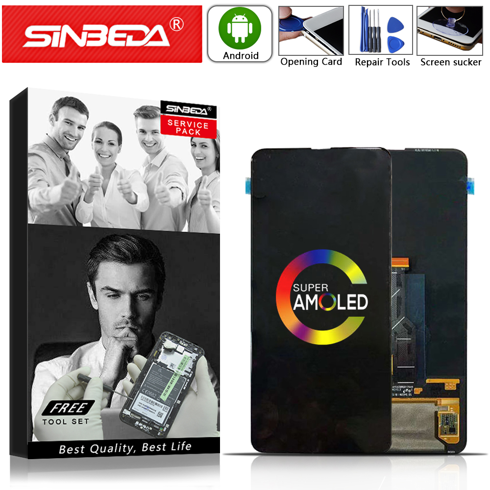 """Sinbeda 6.39"""" AMOLED For Xiaomi Mi MIX3 Mi Mix 3 LCD Display+Touch Screen Digitizer Replacement Accessories For Xiaomi Mi MIX 3"""