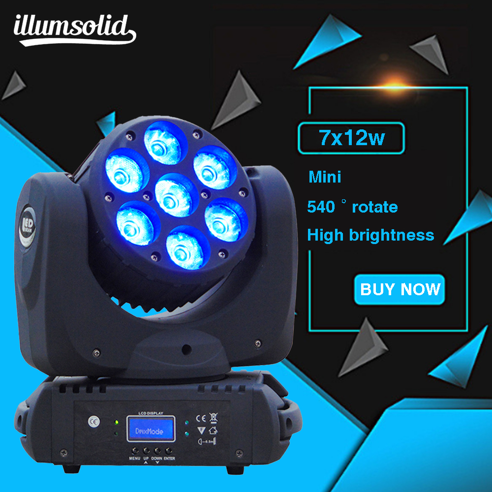 7X12W 12X12W and 36X3W LED Beam spot DMX512 Moving Head Light Professional DJ Disco Party Stage