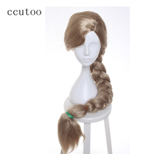 ccutoo Women's Long Tangled Rapunzel Blonde Braid styled par