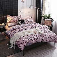 HSMLTKC Bedding Set Comforter Bedding Sets Bed Sheets And Pillowcases Parure De Lit Bedsheet Set Beddengoed Queen Size Bed Sheet