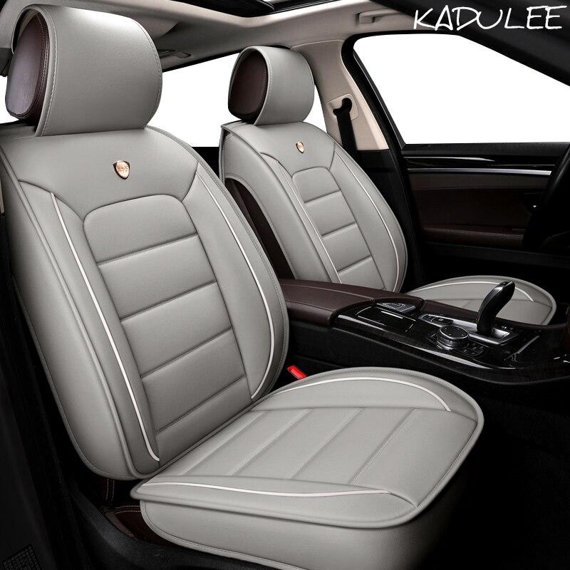 Чехол для автокресла KADULEE для hyundai ELANTRA i10 i20 Tucson IX35 IX25 Sonata Santafe Accent автомобильные аксессуары