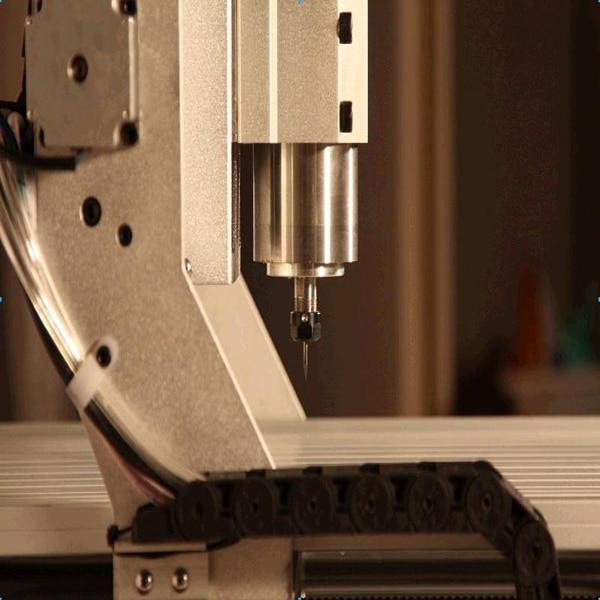 Tornio cnc mini vendita calda AMAN 3040 - Attrezzature per la lavorazione del legno - Fotografia 5