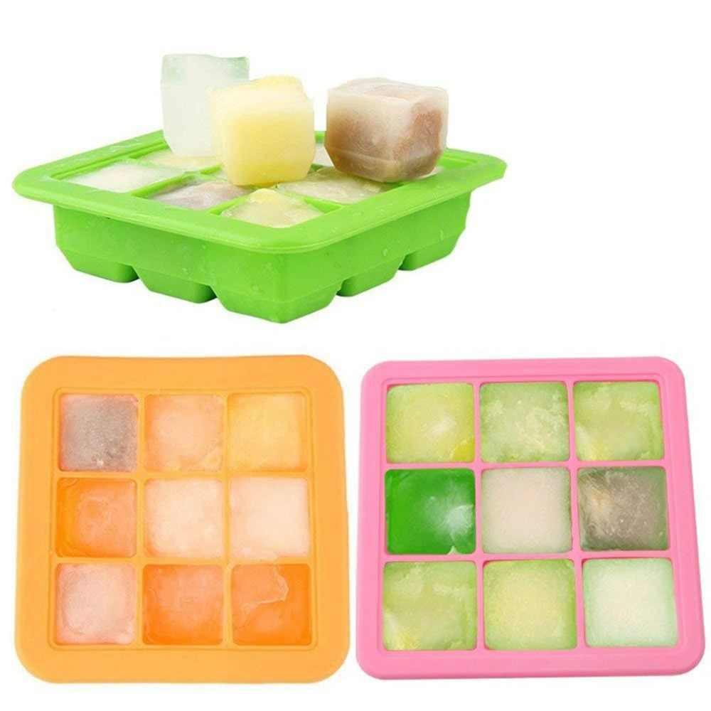 Fácil de Limpar Prático Food Grade Silicone Mold Chocolate Criador Cubo de Gelo Congelar Bar Mould Pudim Jelly Mold ice liquidificador