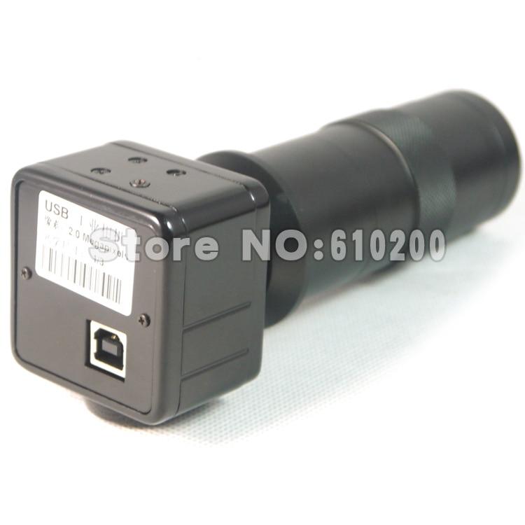 ФОТО 2.0MP HD Digital Industry USB C-mount Microscope Camera Magnifier Big size 1/3 Japan CMOS + C-Mount Lens