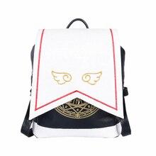 Япония Стиль женщины Gilr аниме рюкзак Card Captor Sakura Kinomoto Лолита Magic школьная сумка Mochila Bolsas рюкзак подарок